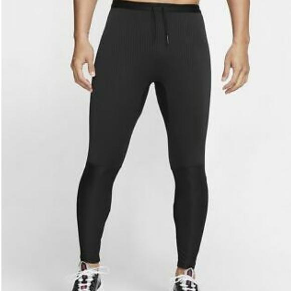 MEDIUM Nike Men's Power Tights-Black
